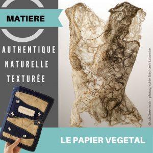 Couture du Papier Végétal