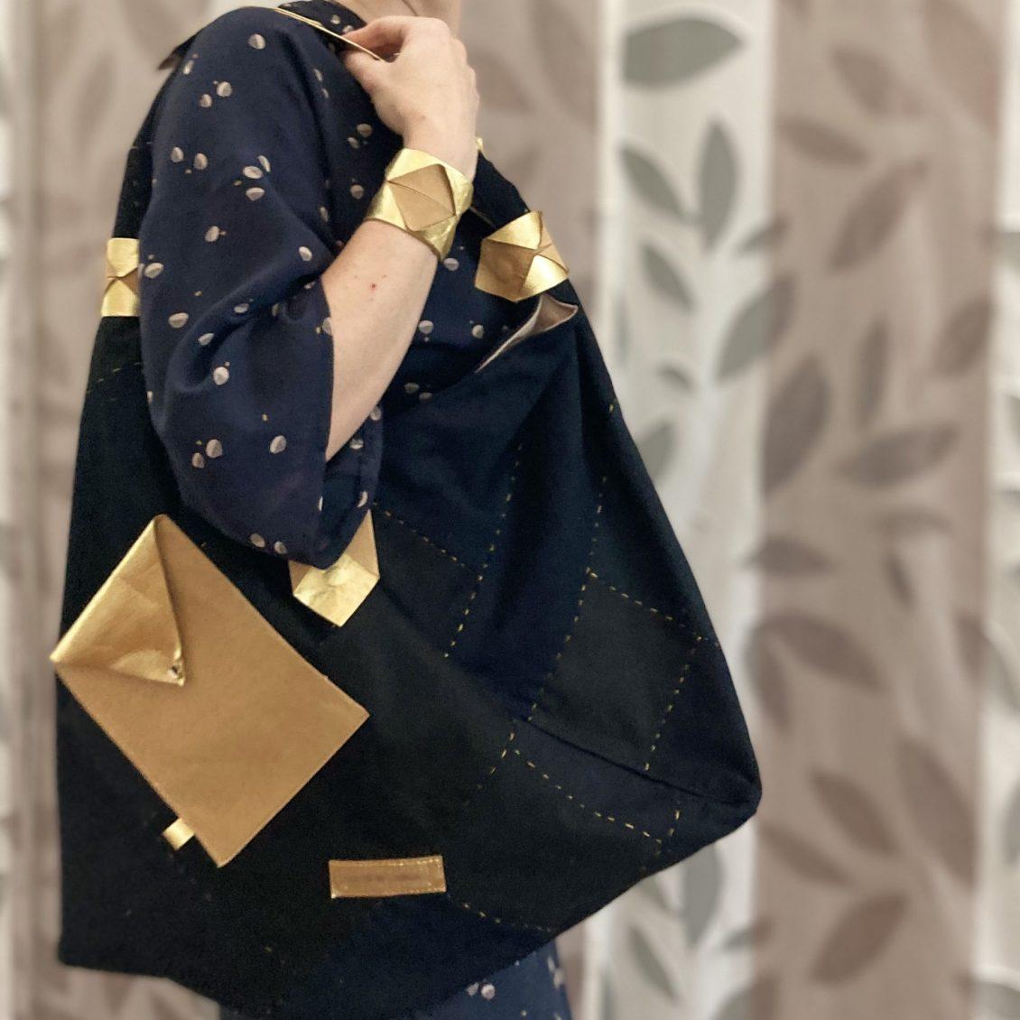 robe kimono et son sac