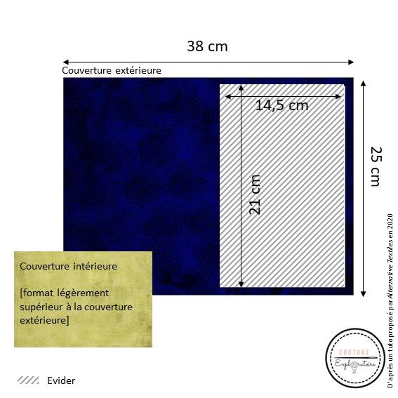 Tutoriel Etape 1 - pochette en papier végétal