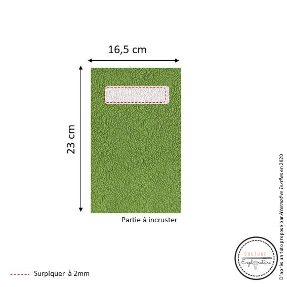 Tutoriel Etape 2 - pochette en papier végétal
