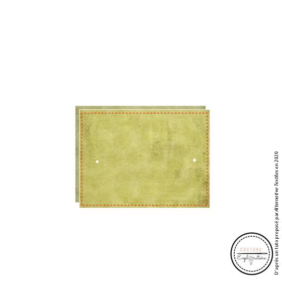 Tutoriel Etape 5 - pochette en papier végétal